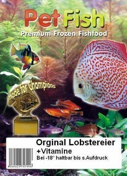 100 x 100g Orginal Lobstereier Premium + Vitamine